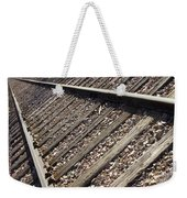 Down The Tracks Weekender Tote Bag