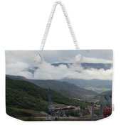 Down The Valley At Snowmass #3 Weekender Tote Bag