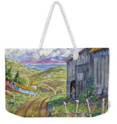 Down To The Fjord Weekender Tote Bag
