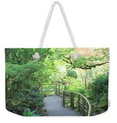 Down To The Garden Weekender Tote Bag