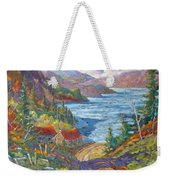Down To The Lake Weekender Tote Bag