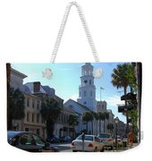 Down Town Charleston Weekender Tote Bag