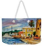 Down Town St Croix Weekender Tote Bag