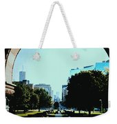 Down University Avenue Weekender Tote Bag