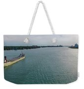 Downbound At Belle Isle Weekender Tote Bag