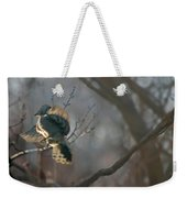 Downey Woodpecker Weekender Tote Bag
