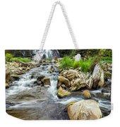 Downstream From Chittenango Falls Weekender Tote Bag