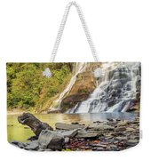 Downstream From Ithaca Falls Weekender Tote Bag