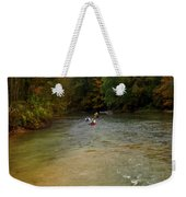 Downstream Weekender Tote Bag