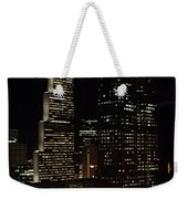 Downtown Atlanta Lights Weekender Tote Bag
