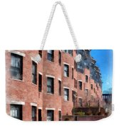 Downtown Burlington Vermont Watercolor Weekender Tote Bag