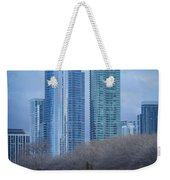 Downtown Chicago Weekender Tote Bag