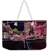 Downtown Eclipse Weekender Tote Bag