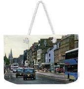 Downtown Edinburgh  Weekender Tote Bag