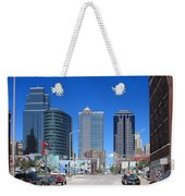 Downtown Kansas City Weekender Tote Bag
