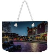 Downtown Weekender Tote Bag