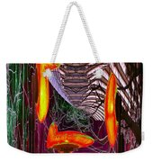 Downtown Light Warp Weekender Tote Bag