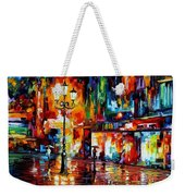 Downtown Lights Weekender Tote Bag