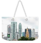 Downtown Miami Weekender Tote Bag