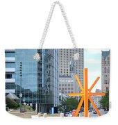 Downtown Milwaukee Weekender Tote Bag