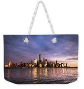 Downtown Nyc Weekender Tote Bag