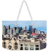 Downtown San Francisco Weekender Tote Bag