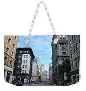 Downtown San Francisco Street Level Weekender Tote Bag