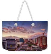 Downtown San Jose From City Heights Weekender Tote Bag