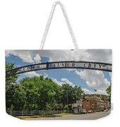 Downtown Silver City Weekender Tote Bag