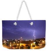 Downtown Storm Weekender Tote Bag
