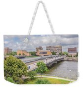 Downtown Waterloo Iowa  Weekender Tote Bag
