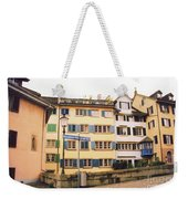 Downtown Zurich Switzerland Weekender Tote Bag