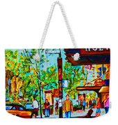 Downtowns Popping Weekender Tote Bag