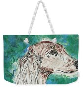 Doxie Blues Weekender Tote Bag