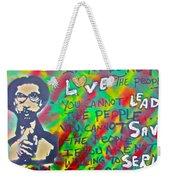 Dr. Cornel West  Love The People Weekender Tote Bag