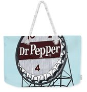 Dr Pepper Landmark Sign Roanoke Virginia Weekender Tote Bag