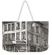 Dr. Samuel Johnson S Birthplace In Weekender Tote Bag