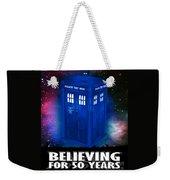 Dr Who Believing Weekender Tote Bag