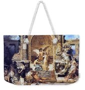 Draft Curtain Theatre In Krakow 1894 2 Henryk Semiradsky Weekender Tote Bag
