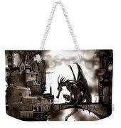 Dragon And Castle Weekender Tote Bag