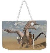 Dragon And Master Weekender Tote Bag