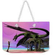 Dragon Weekender Tote Bag by Corey Ford