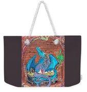 Dragon Family Weekender Tote Bag