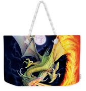 Dragon Fire Weekender Tote Bag