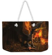 Dragon Flame Weekender Tote Bag