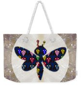 Dragon Fly Cute Painted Face Cartons All Over Donwload Option Link Below Personl N Commercial Uses Weekender Tote Bag