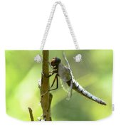 Dragonfly Slow Dance Weekender Tote Bag