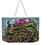 Dragon In Thorns Weekender Tote Bag