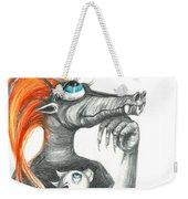 Dragon Mom Weekender Tote Bag