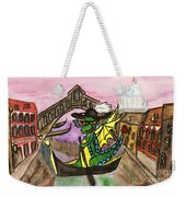 Dragon New Year Comes To Venice Weekender Tote Bag
